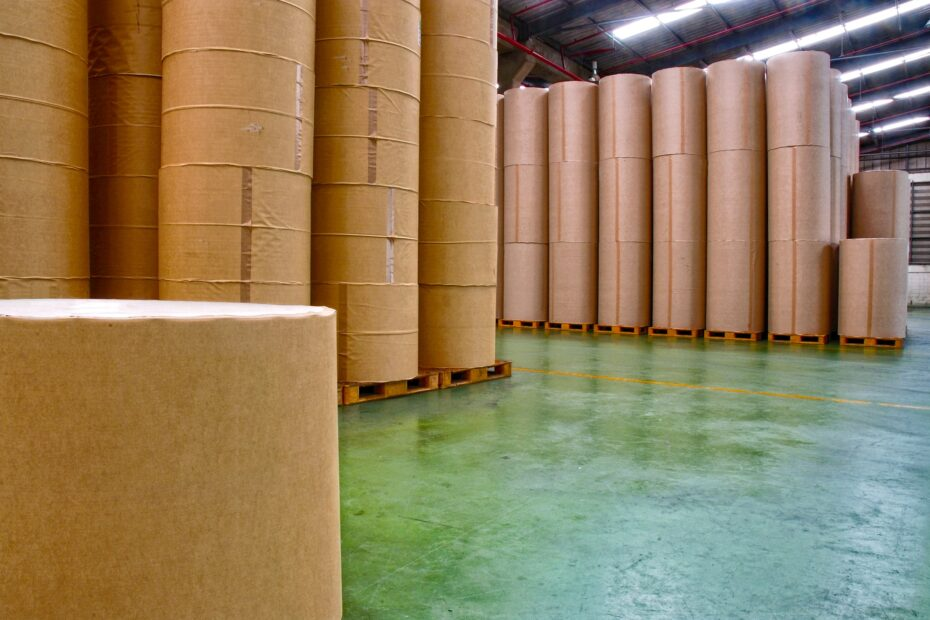 Paper Factory Manufacturing Industrial Storage Warehouse
